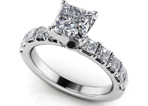 Princess Allure Engagement Ring
